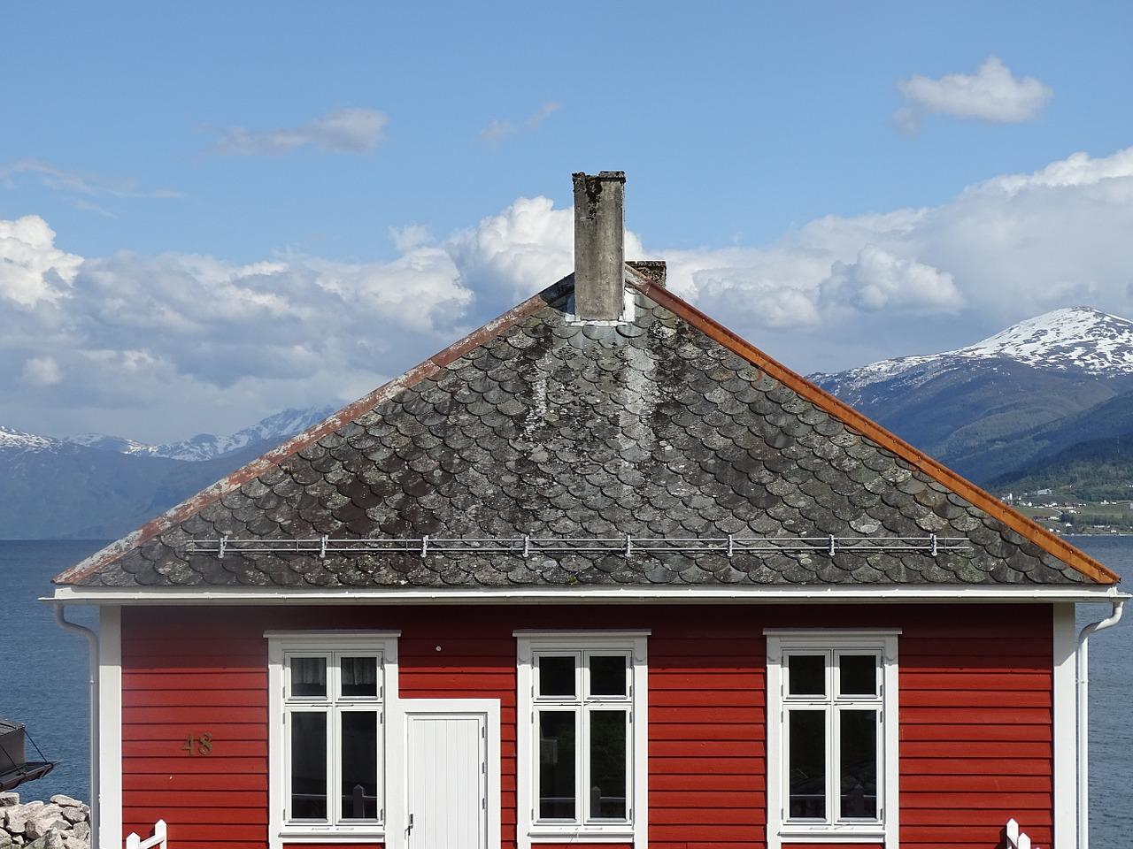 Casas de madera de noruega viviendu blog for Casas en noruega