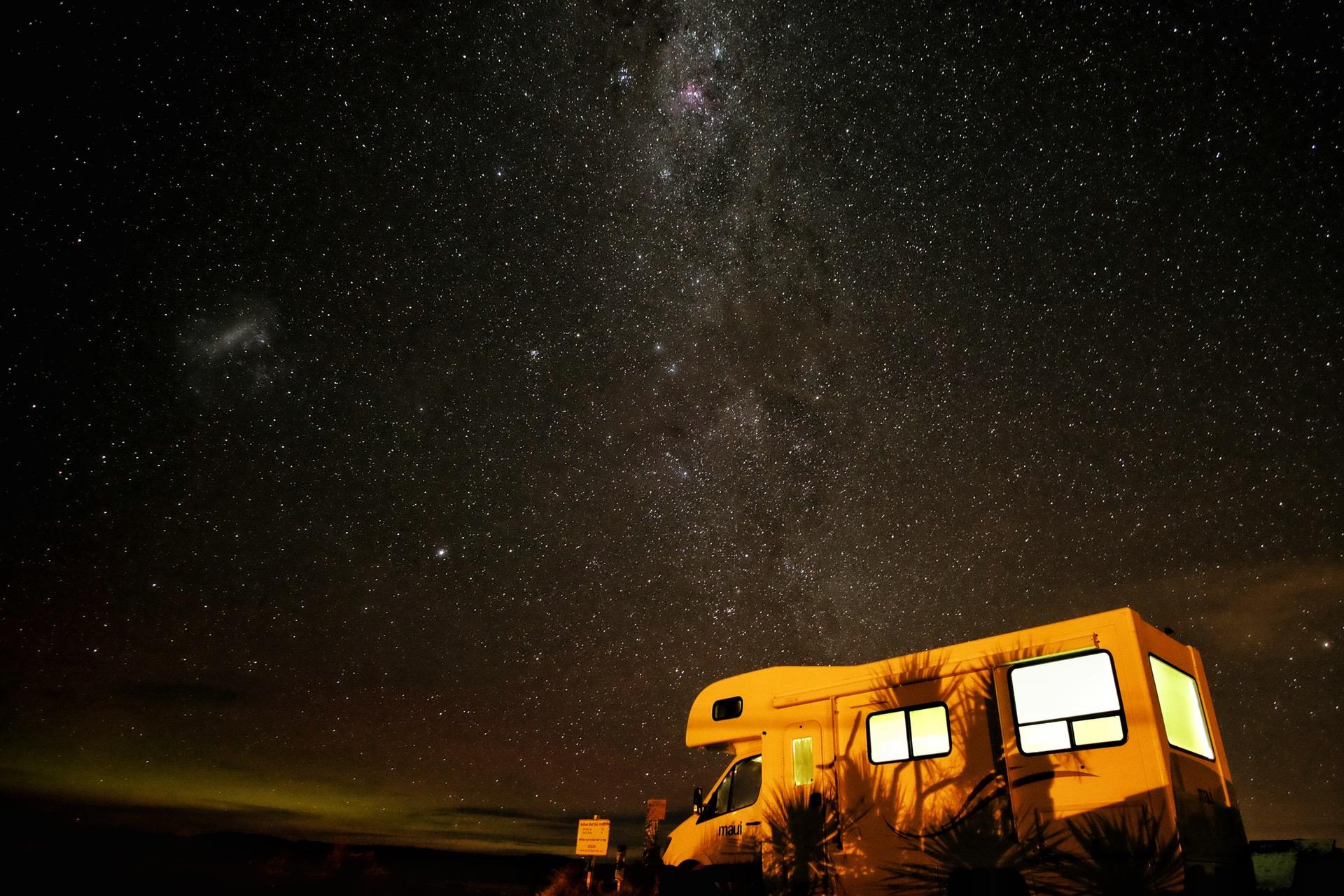 iluminación camping