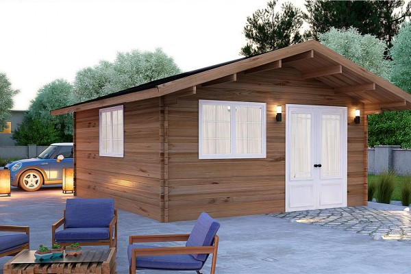 Caba as de madera en donacasa viviendu for Cabanas infantiles en madera