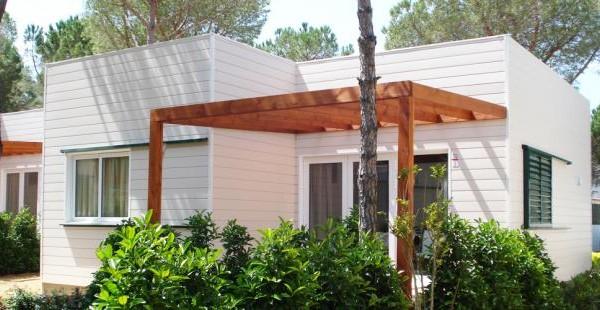 Caba as de madera en euro bungalow viviendu for Oferta cabanas de madera