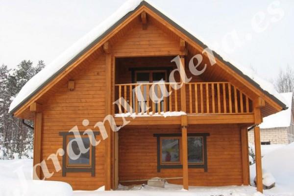 Caba as de madera en viviendu for Cabanas infantiles en madera