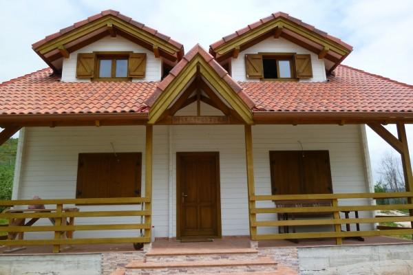 Casas de madera en am chalets viviendu - Chalet de madera ...
