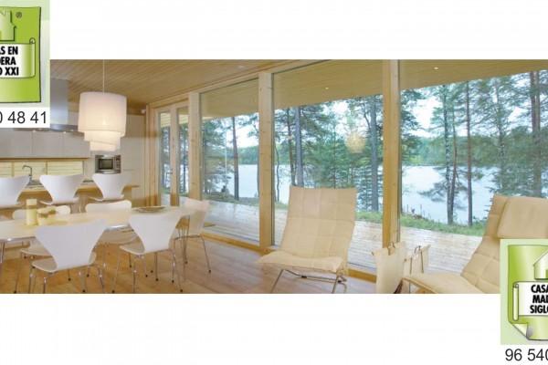 Casas de madera en madera siglo xxi casas naturales - Casas de madera natural ...