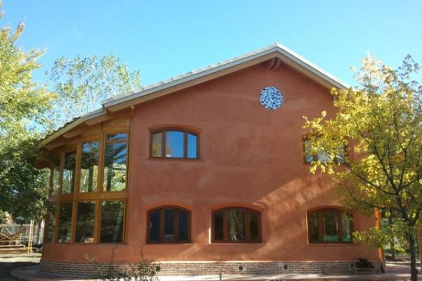Casas de paja viviendu - Casas ecologicas espana ...