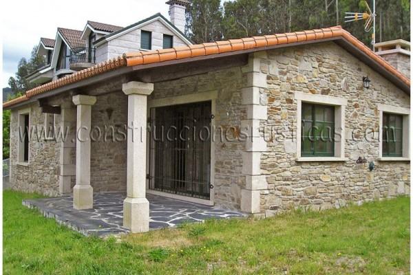 Casas incre bles en construcciones r sticas gallegas for Casas modernas revestidas en piedra