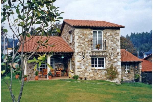 Casas de piedra viviendu for Construcciones rusticas