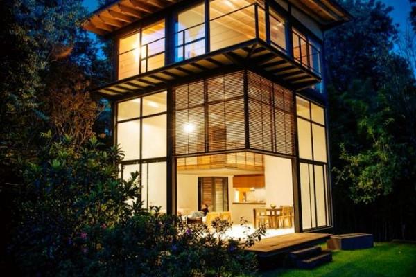 Casas modulares en acero modular viviendu - Casas modulares acero ...
