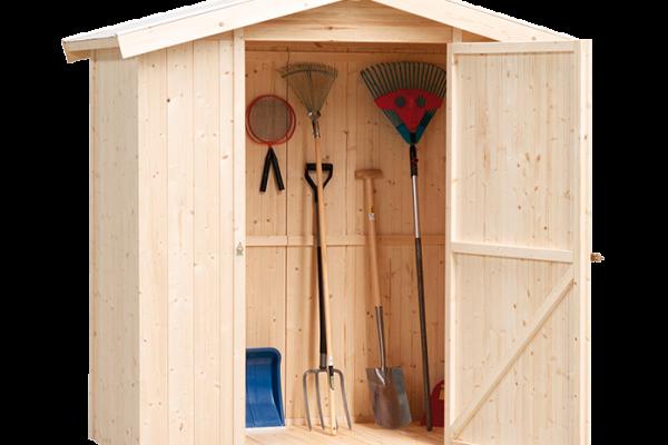 Casetas de madera en bauhaus viviendu for Casetas de chapa galvanizada precios