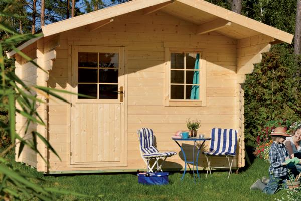 P rgolas porches y cenadores en bauhaus viviendu for Casetas de madera para jardin aki