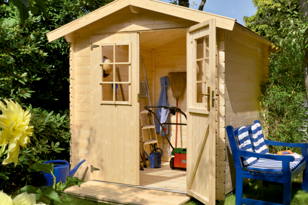 casetas de madera en bauhaus viviendu