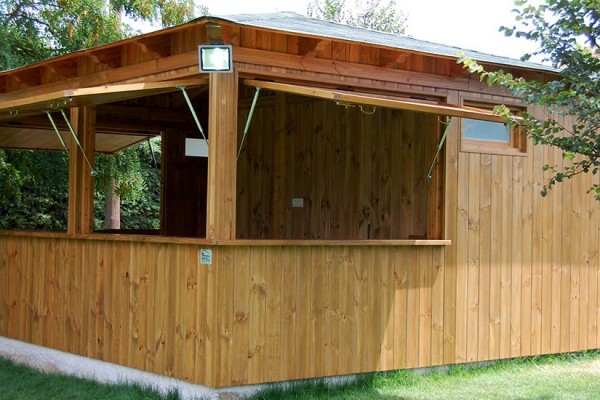 Casetas de madera viviendu for Caseta de jardin de madera