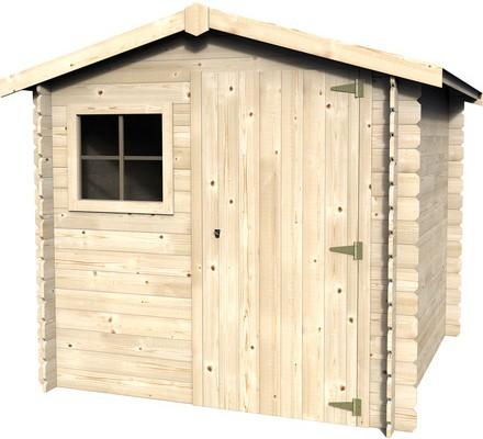 Casetas de madera en bricor viviendu for Casetas jardin resina baratas
