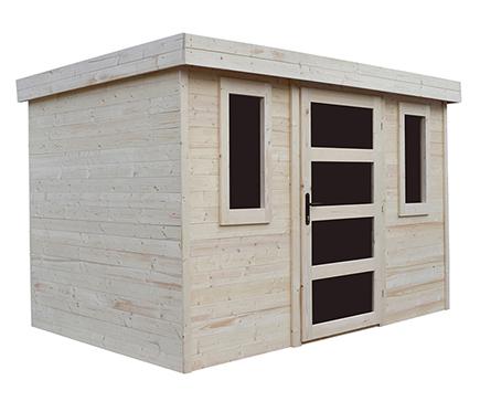 Casetas de madera en leroy merlin viviendu for Caseta madera jardin