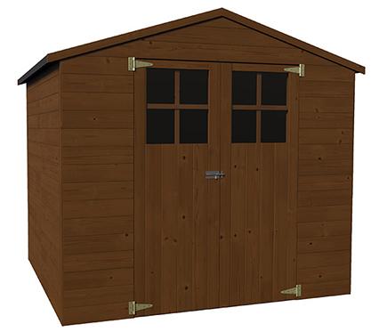 Casetas de madera en leroy merlin viviendu for Casetas de jardin metalicas