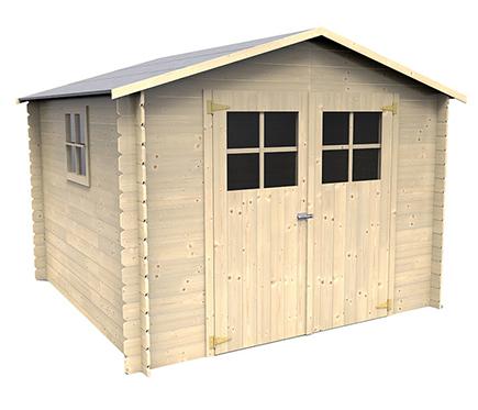 Casetas de madera en leroy merlin viviendu - Casetas de madera infantiles ...