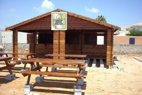 Casetas de madera en madera siglo xxi casas naturales - Casetas de madera pequenas ...