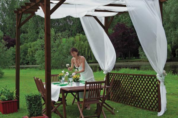 P rgolas porches y cenadores en bauhaus viviendu - Bauhaus casetas jardin ...