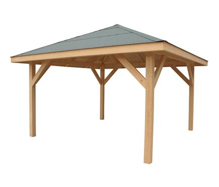P rgolas porches y cenadores en leroy merlin viviendu for Cenadores de madera para jardin