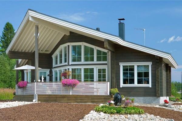 Casas canadienses viviendu - Casas de madera canadienses en espana ...