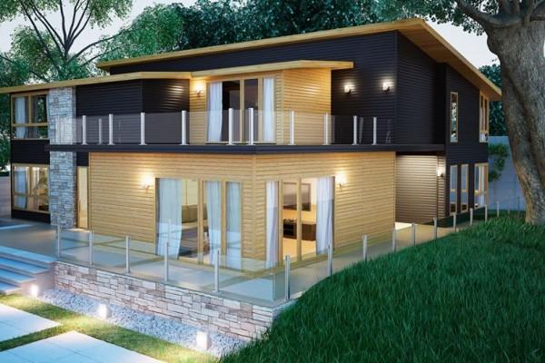 Casas de madera en donacasa viviendu - Propiedades de la madera ...
