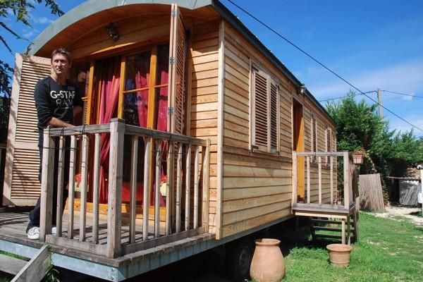 Caba as de madera en casa alternativa viviendu - Casas rurales de madera ...