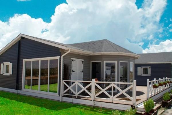 P rgolas porches y cenadores en 5scc viviendu - Casas de madera para vivir ...