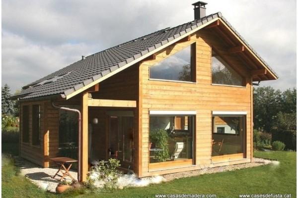 Casas de madera en canadian nordic house viviendu - Seguros casas de madera ...