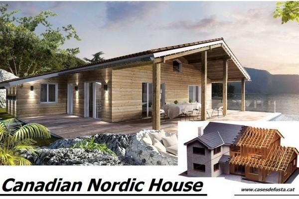 Casas de madera en canadian nordic house viviendu - Seguros para casas de madera ...