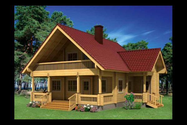 Casas de madera en lava viviendu - Casas prefabricadas de madera espana ...