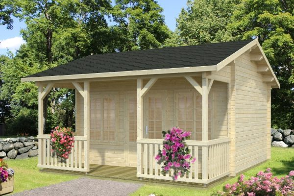 Casas de madera baratas viviendu for Casetas jardin baratas
