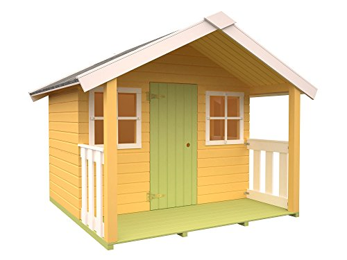 7 casetas de madera para ni os muy divertidas viviendu blog - Caseta madera ninos ...