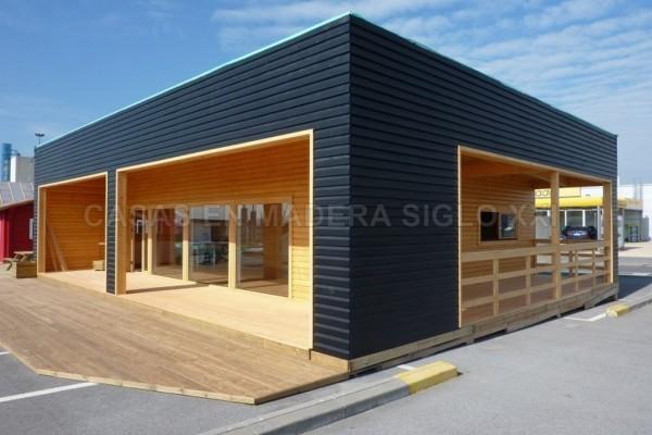 Casas de madera en Madera Siglo XXI – Casas Naturales 2597