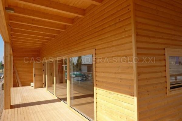 Casas de madera en Madera Siglo XXI – Casas Naturales 2598