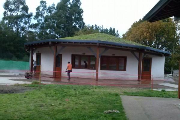 Casas ecológicas en Bioedif 2455