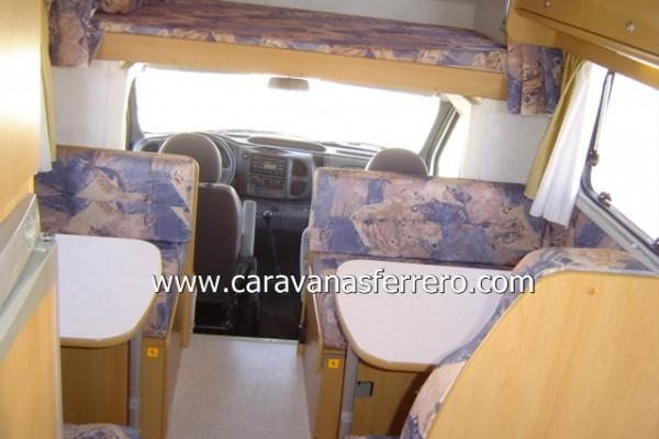 Autocaravanas en Caravanas Ferrero 3812