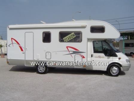 Autocaravanas en Caravanas Ferrero 3800