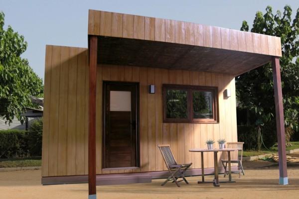Caba as de madera viviendu - Cabanas de madera los pinos ...