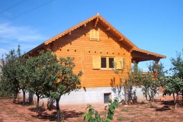 Cabañas de madera en Amadera Deluxe 145