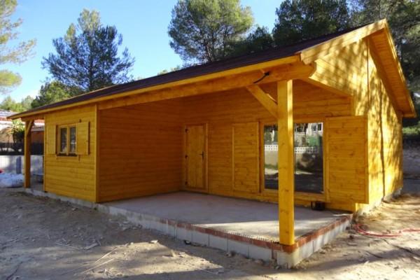 Cabañas de madera en Amadera Deluxe 146