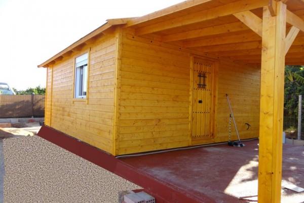 Cabañas de madera en Amadera Deluxe 147