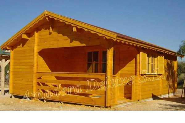 Cabañas de madera en Amadera Deluxe 135