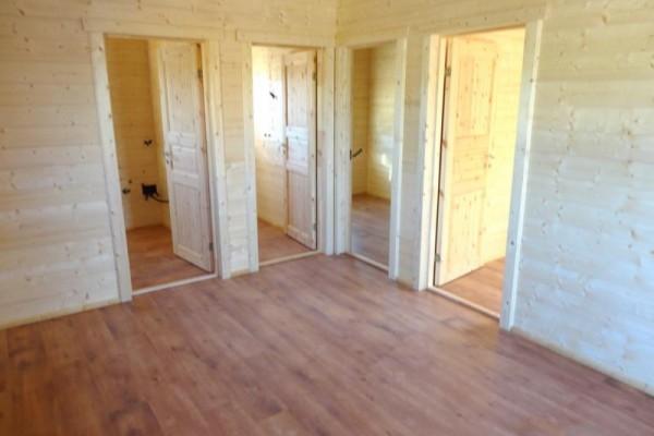 Cabañas de madera en Amadera Deluxe 153