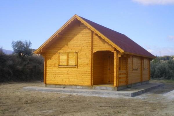 Cabañas de madera en Amadera Deluxe 164