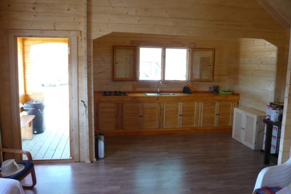 Cabañas de madera en Amadera Deluxe 165