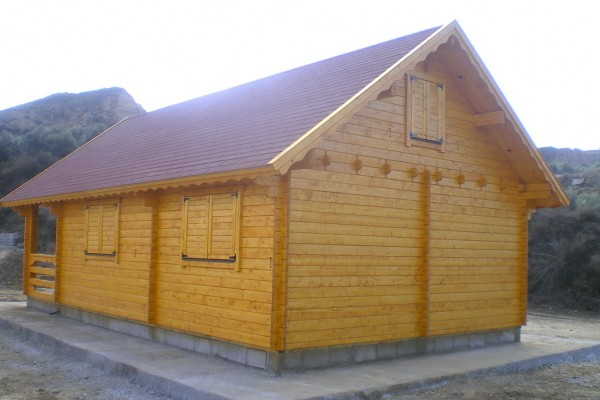 Cabañas de madera en Amadera Deluxe 166