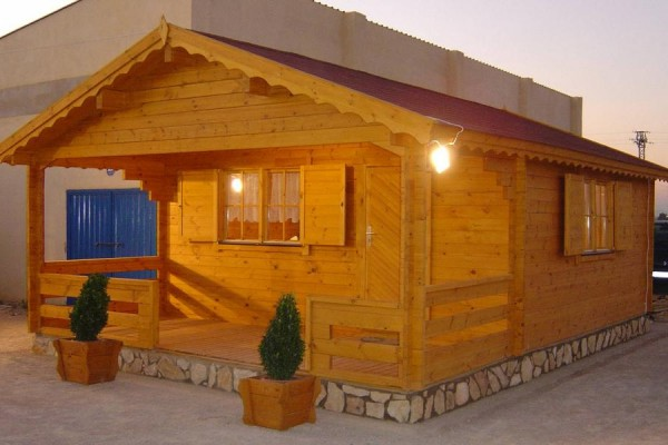 Cabañas de madera en Amadera Deluxe 136