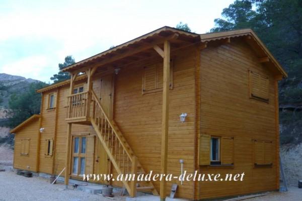 Cabañas de madera en Amadera Deluxe 137