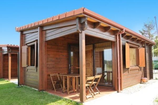 Cabañas de madera en Amadera Deluxe 5006