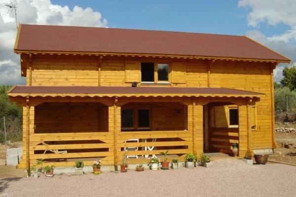 Cabañas de madera en Amadera Deluxe 139