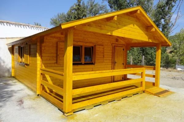 Cabañas de madera en Amadera Deluxe 140